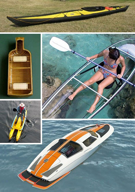 Overboard: 15 Creative & Offbeat Canoes, Kayaks & Boats ...
