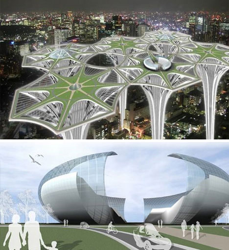 Future Architecture Ideas Unbuilt Buildings: 12 ...