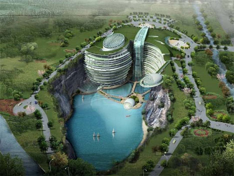 未来预测--5 Marvelous Unbuilt Building Designs