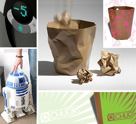 Trash Can Garbage Bin Designs