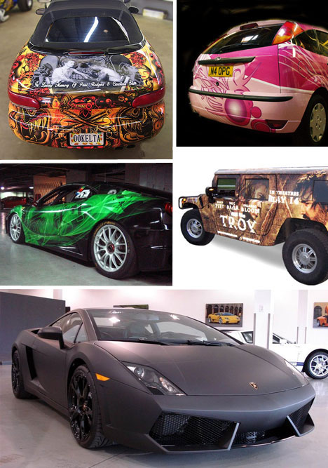 Art of Speed: 30 Brilliant Vinyl Car Wrap Designs & Decals | Urbanist