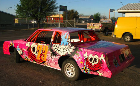 Khalique Popcorn Fun: Car Wrap Designs