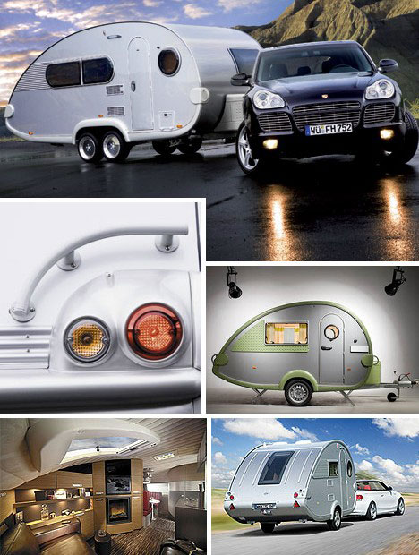 12 Futuristic Mobile Homes Trailer Trash Turned Treasure