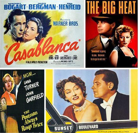 Clasic Movie Posters The Dark Allure Of Film Noir