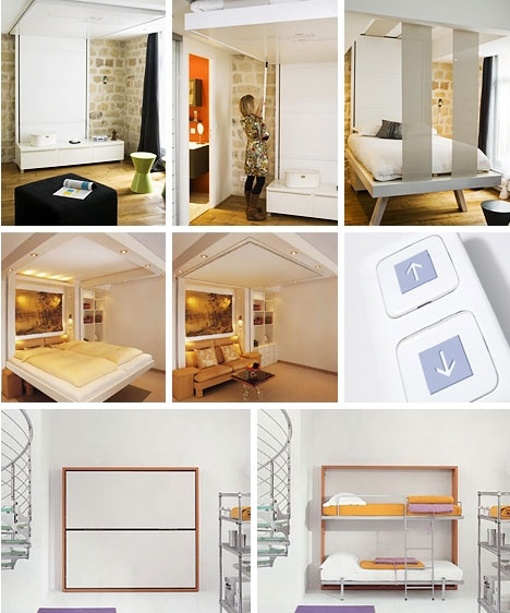 furniture that transforms. Compact Dreamland Furniture That Transforms