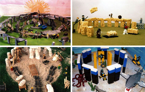 National Geographic kids Stonehenge replicas