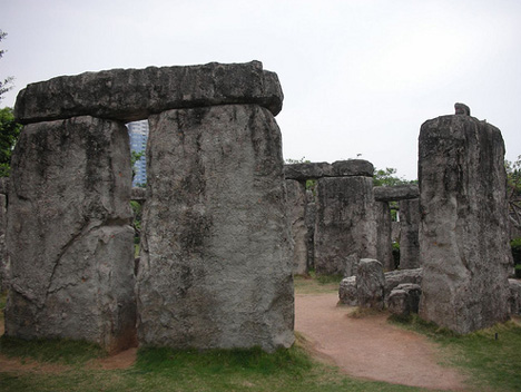 Window of the World Stonehenge