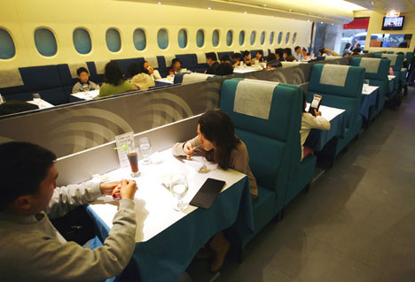 a380 restaurant Weird Restaurants