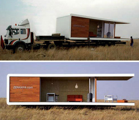 All-in-One Prefabricated Portable Home