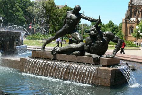 hyde-park-archibald-fountain-sydney-australia-man-and-minotaur