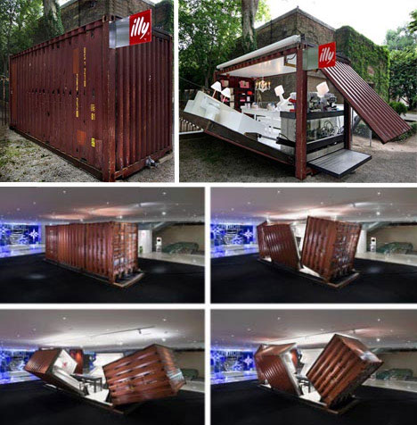 Recycled Cargo Container Made Into Portable Home