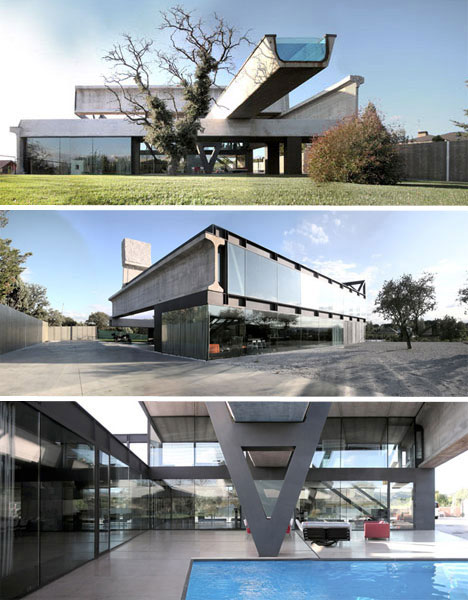 Prefabulous buildings 10 fantastic prefabricated homes for Prefab concrete house