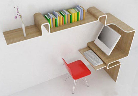 12 Offbeat Office Interiors & Innovative Desk Designs | Urbanist