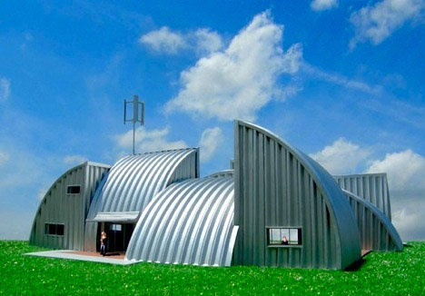 Prefabulous buildings 10 fantastic prefabricated homes for Houses made from metal buildings
