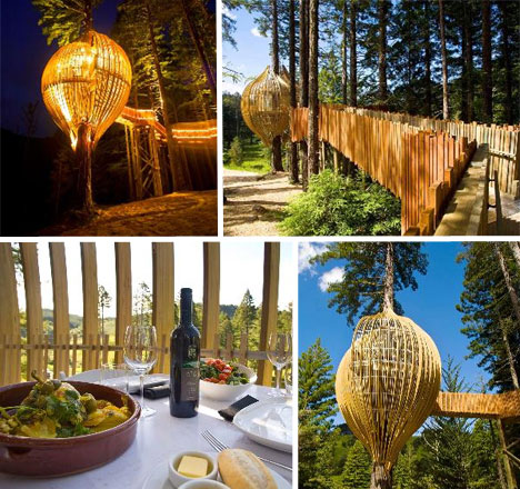 treehouse restaurant Weird Restaurants