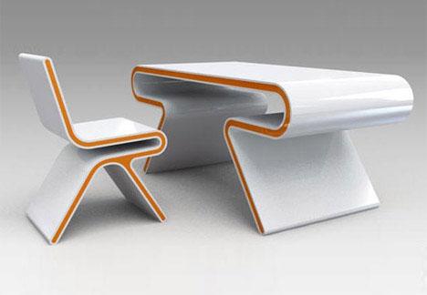 desk designs on 12 offbeat office interiors innovative desk designs weburbanist - Designer Desks