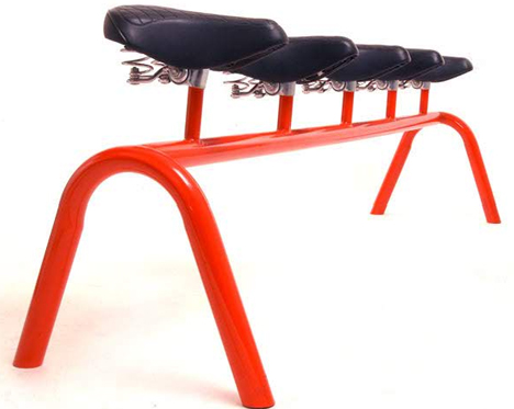 Bicycle Seat Bench