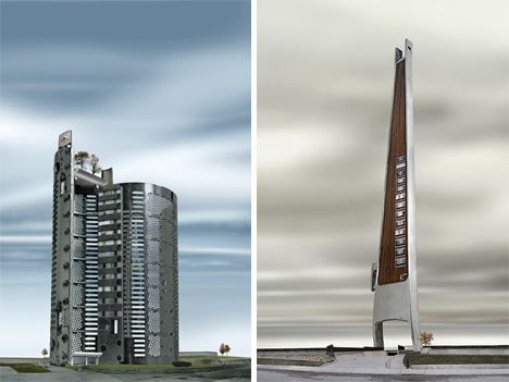 David Trautrimas electric razor cooperative and vacuum towers