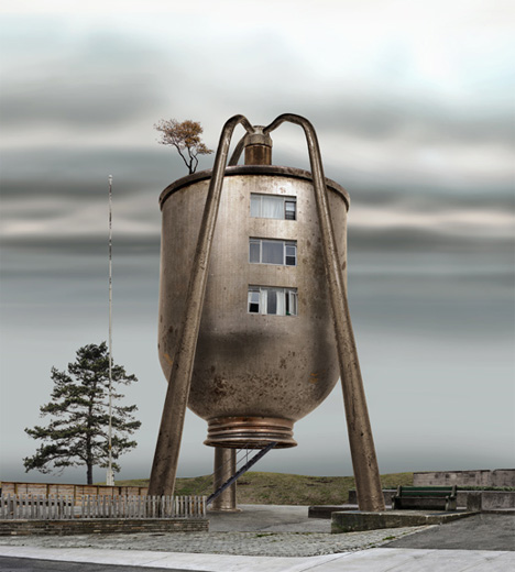 David Trautrimas oil can residence