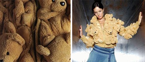 Teddy Bear Coat design