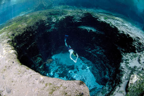 14 Super Places To Swim From The Bizarre To The Beautiful