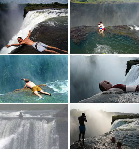 14 super places to swim from the bizarre to the beautiful urbanist for Devils swimming pool victoria falls