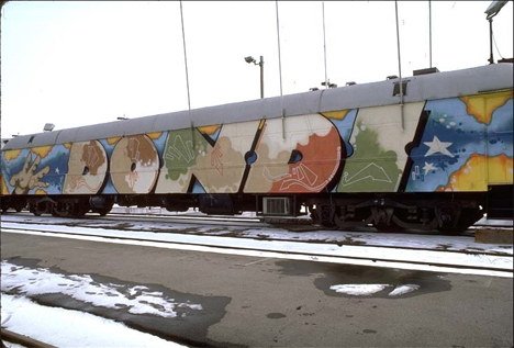 dondi graffiti train