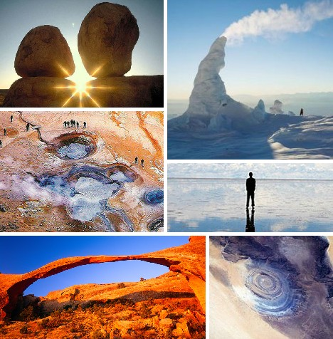 geological world wonders