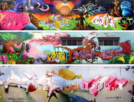 Buenos Aires walls graffiti