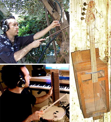 Creative Musician Makes Crazy Instruments From Everyday Items