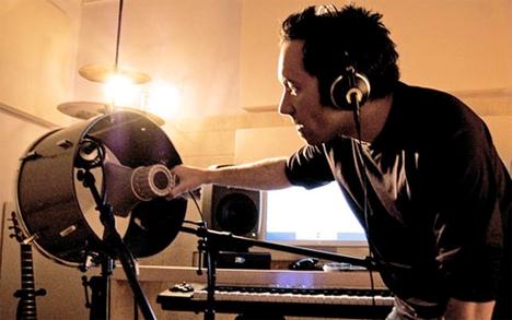 Diego Stocco kick drum