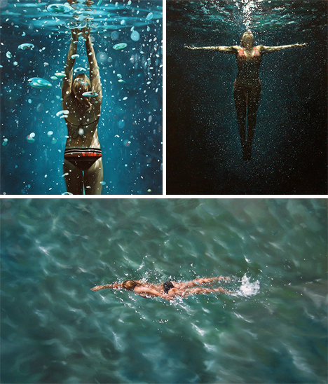 Eric Zener photo realistic art water