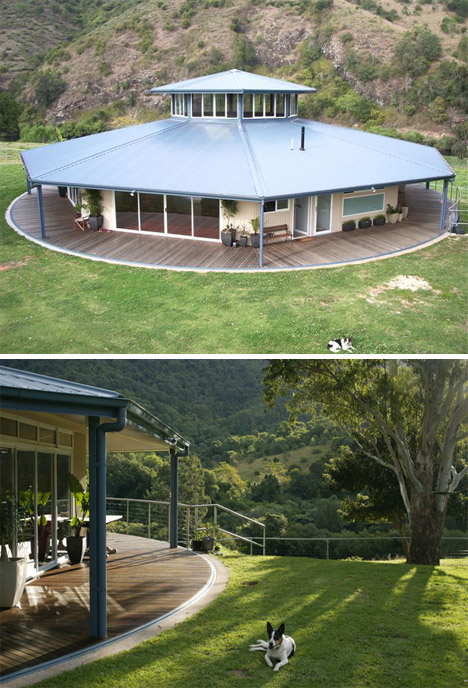 (Images via: Everingham Rotating House)