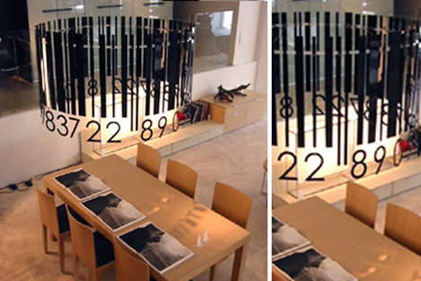 barcode-chandelier
