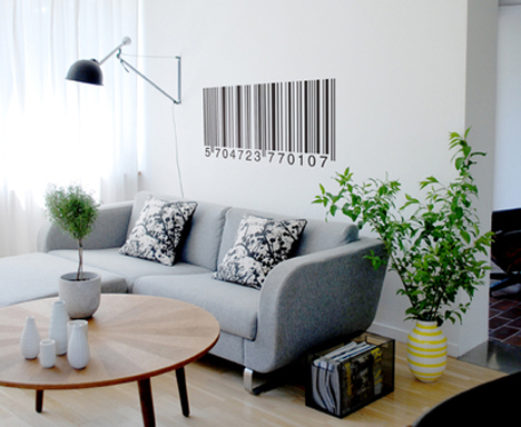 barcode-wall-decal