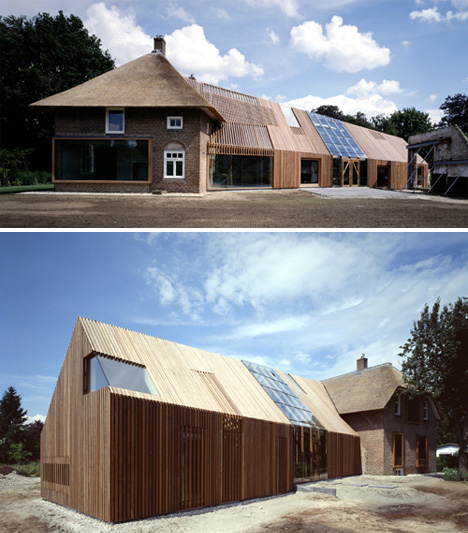 Adaptive reuse 15 creative house home conversions for Metal buildings made into houses