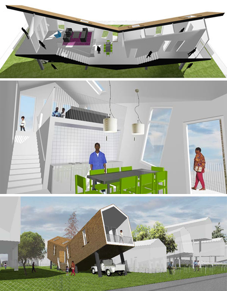 Make It Right In New Orleans 5 Post Disaster Home Designs