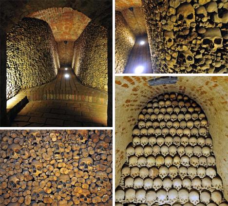 brno ossuary czech republic subterranean bone chamber