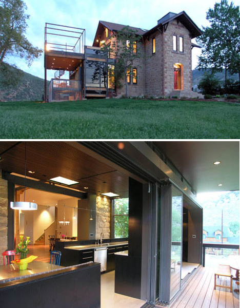 Adaptive reuse 15 creative house home conversions for Classic modern homes