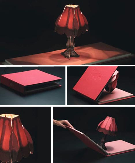 Pop Up Lamps Unfold To Illuminate