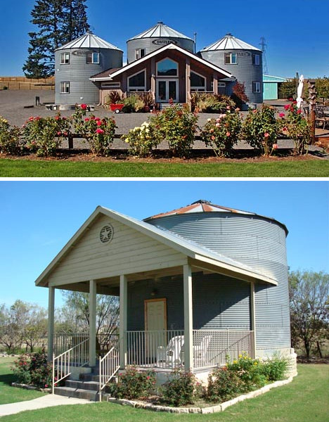 Adaptive reuse 15 creative house home conversions for Metal buildings into homes