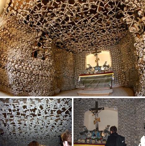 kaplica czazek chapel of skulls poland