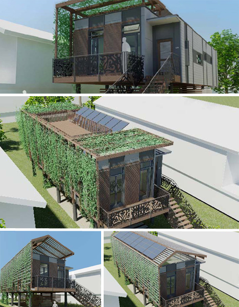 new homes designs photos. kieran timberlake Make it Right in New Orleans  5 Post Disaster Home Designs Urbanist