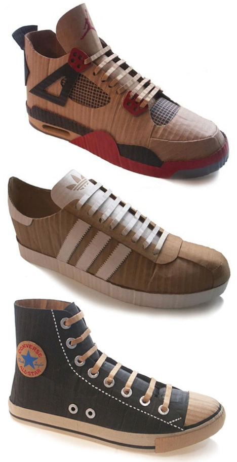 mike-leavitt-cardboard-sneakers