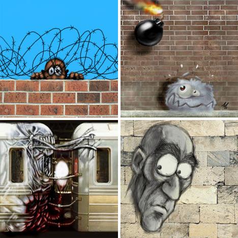 online graffiti generator zewall