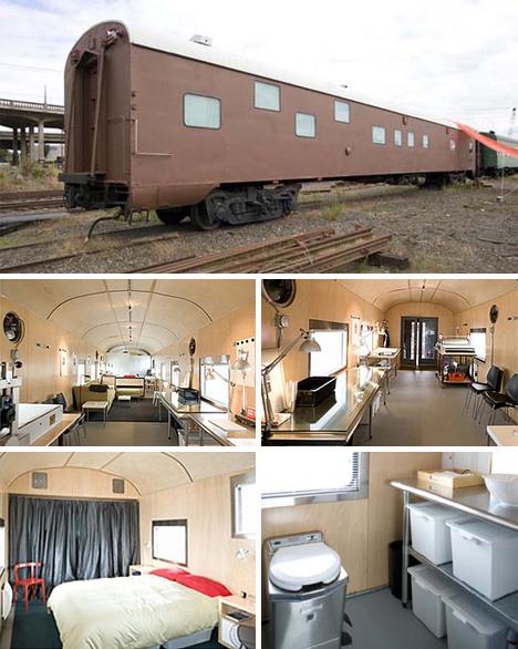 portland rail car home