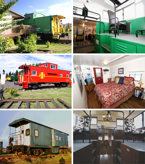 redcaboose getaway bed and breakfast