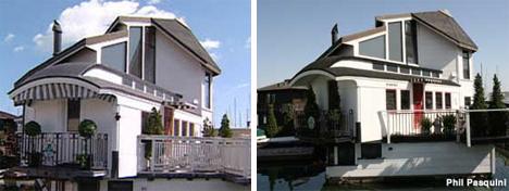 sausalito california railroad car houseboat