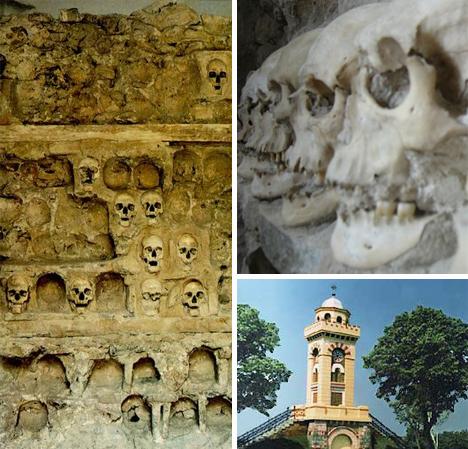 skull tower serbia
