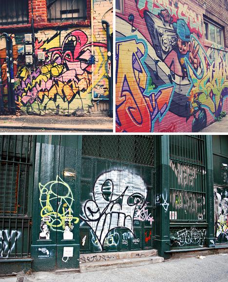 street graffiti pieces